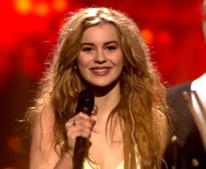 Eurovizijos 2013 nugalėtoja iš Danijos Emili de Forest | Alkas.lt nuotr.