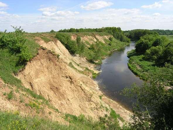 Jūros upė aukščiau Rekstukų piliakalnio   V.Almonaičio nuotr.