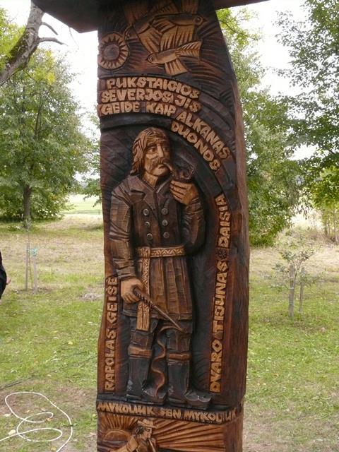 Tijūnas Geišė sodybvietėje stojo šalia Severiutės ir Mykoliuko