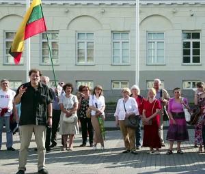 Garliavos metinių minėjimas S.Daukanto aikštėje, Vilniuje | Alkas.lt nuotr.