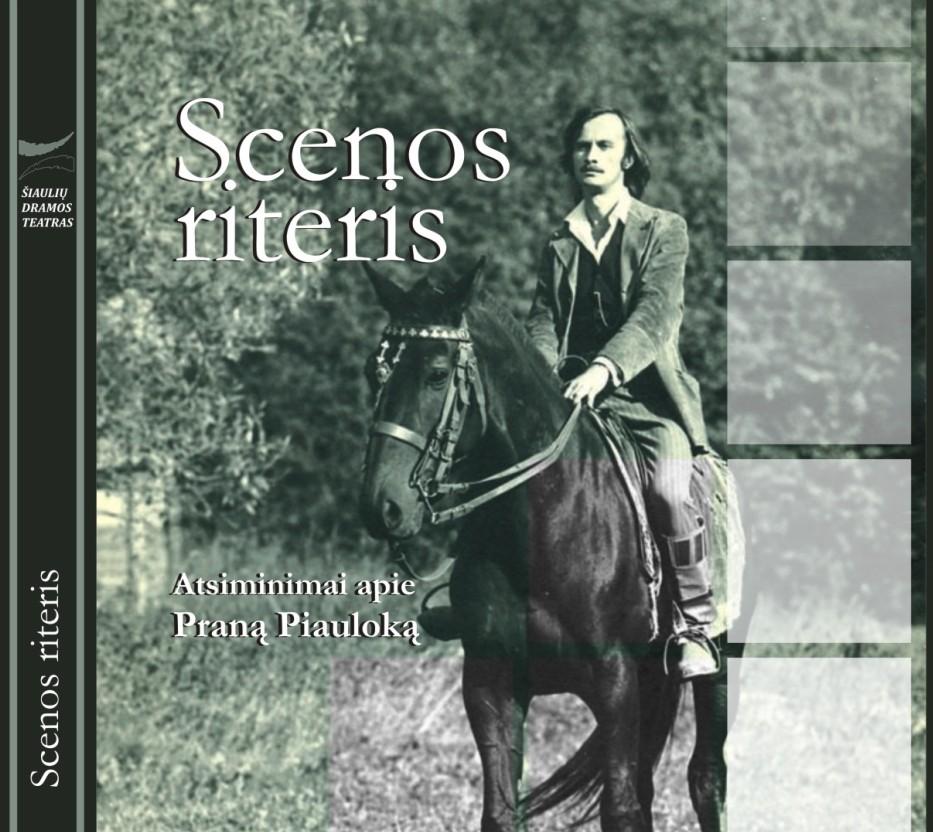 Knygos apie aktorių Praną Piauloką viršelio dalis | sdt.lt nuotr.