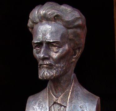 Detmolde (Vokietija) gegužės 10 d. bus atidengtas  lietuvių skulptoriaus Liongino Garlos sukurtas Vydūno biustas | lippe-news.de nuotr.