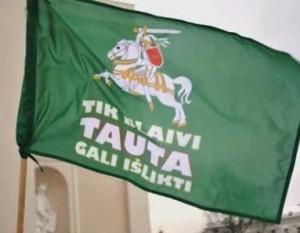 Bėgimo už blaivybę vėliava
