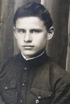 Edmundas Arbačiauskas Kaišiadorių gimnazijos moksleivis   LCVA nuotr.
