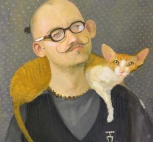 M.Gaubo paveikslo fragmentas