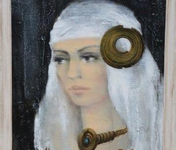 Ilonos Daujotaitės-Janulienės paveikslo dalis | Rengėjų nuotr.