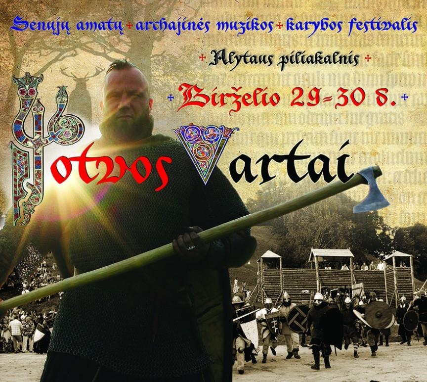 Jotvos vartai_plakatas