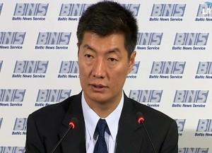 Tibeto vyriausybės tremtyje vadovas dr. Lobsangas Sangajus (Lobsang Sangay) | Alkas.lt nuotr.