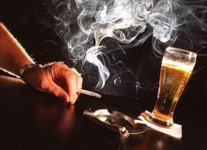 Alkoholis ir cigaretės