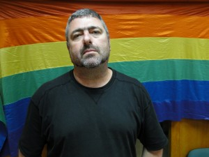 Shaulis Ganonas - vienas žymiausių Izraelio LGBT aktyvistų