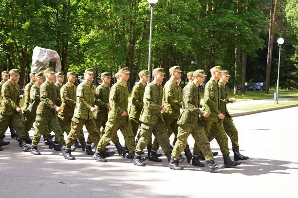 Moksleiviai kariuomenėje | kam.lt nuotr.