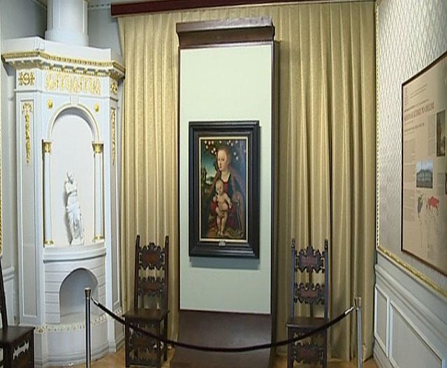 Vilniuje rodomas vokiečių Renesanso tapybos šedevras | Alkas.lt nuotr.