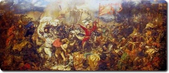 Jano Matejkos paveikslas_Žalgirio mūšis