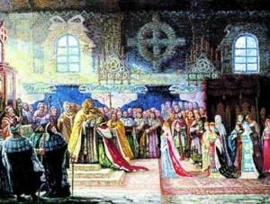 1253 m. Mindaugo ir jo žmonos karūnavimo apeigos vyko pagal visus to meto reikalavimus.