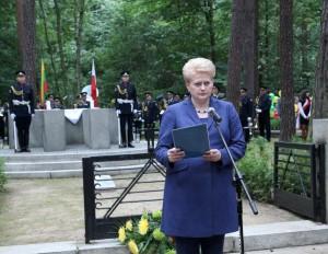 Lenkijoje, Pščelnike pagerbiami Lietuvos Didvyriai – Darius ir Girėnas | lrp.lt nuotr.