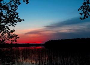 Saulėlydis prie Švenčiaus ežero | panoramio.com, GTKTS nuotr.
