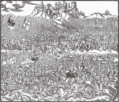 "Žalgirio mūšis. Martyno Bielskio ""Lenkijos kronika"", 1597 m."