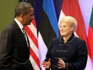 B.Obama ir D.Grybauskaitė | lrp.lt nuotr.
