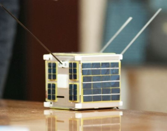 """LituanicaSat-1"" Molėtų observatorijoje. A.Zigmanto nuotr."