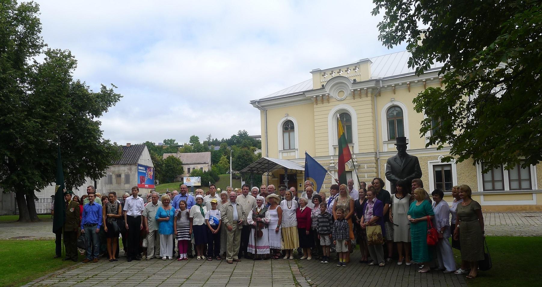 A. Smetonos 139-ųjų gimimo metinių minėjimas Kaune