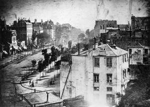 Temple bulvaras Paryžiuje 1838 m. Ž.M.Degero nuotr.