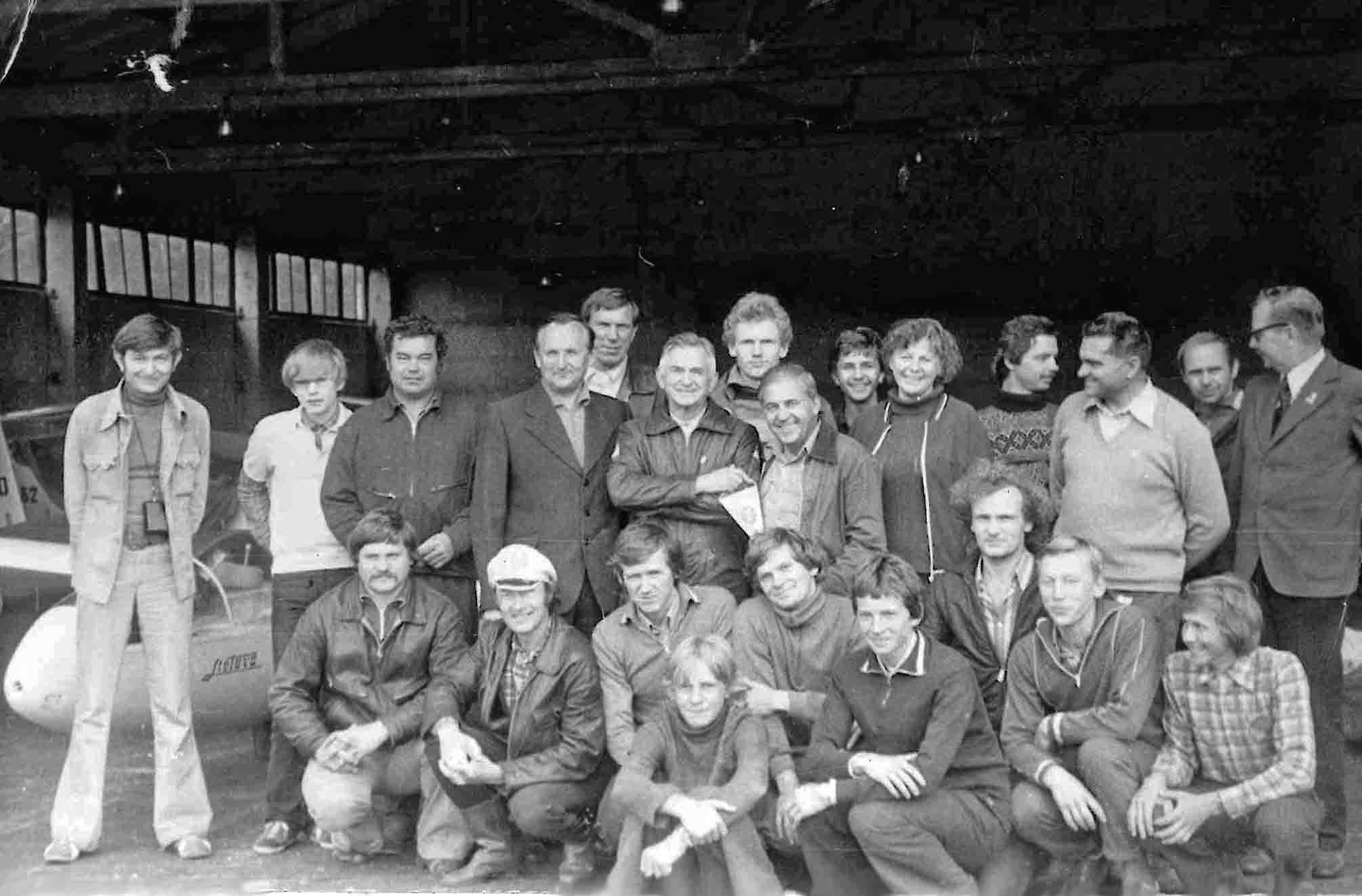 Lėktuvų konstruktorius O.Antonovas Paluknės aerodrome I