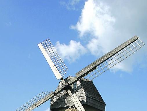 Netoli Araišių ežero, jau Gaujos nacionalinio parko teritorijoje, stūkso vėjo malūnas, į kurį verta užsukti | valstietis.lt nuotr.