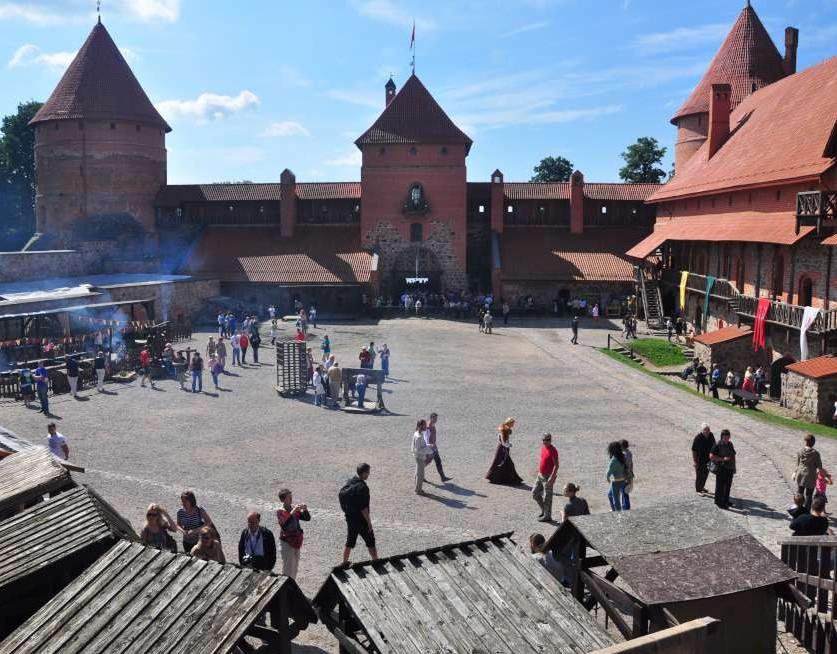 Trakų pilyje amatų šventė | rengėjų nuotr.