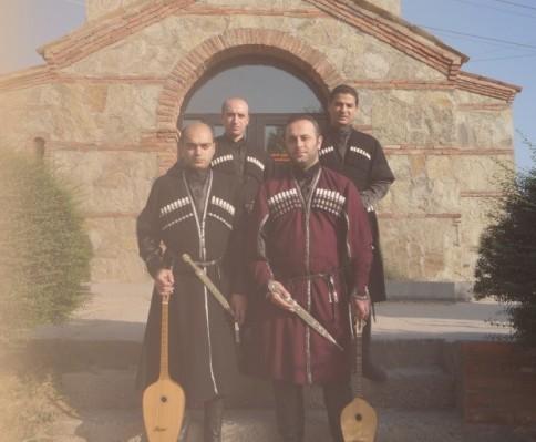 "Gruzinu folkloro ansamblis ""Gantiadi"""