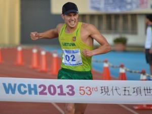 Justinas Kinderis | pentathlon.org nuotr.