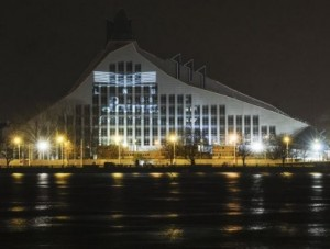 Gaismas  pils – Latvijos nacionalinė biblioteka | lnb.lv nuotr.