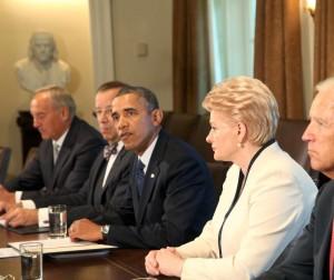 D.Grybauskaitė ir B.Obama | lrp.lt, Dž.G.Barysaitės nuotr.