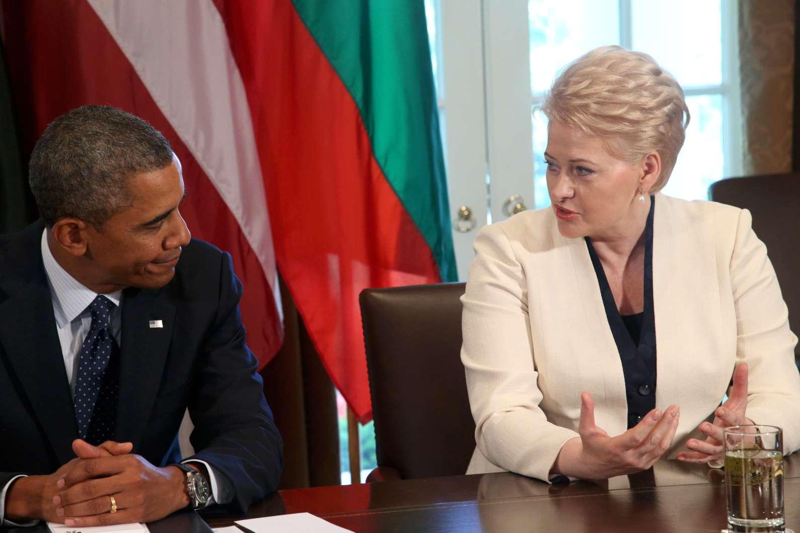 Dalia Grybauskaitė ir Barakas Obama | lrp.lt, Dž.G.Barysaitės nuotr.