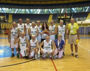"""Vilniaus """"Statybos"""" veteranai"""