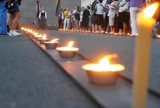 Žvakių kelias | bauskasdzive.diena.lv nuotr.