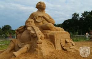 Smėlio skulptūros | S.Narkaus nuotr.