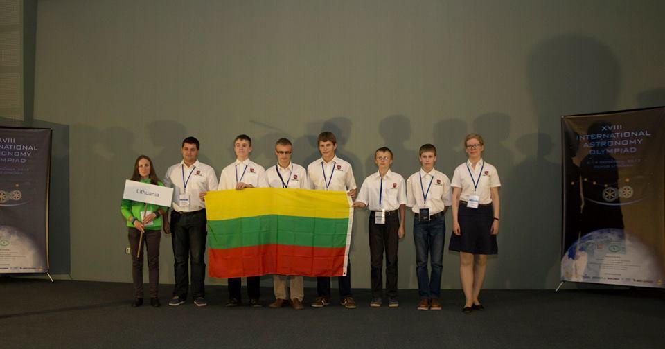 Tarptautinė Astronomijos olimpiada. Lietuvos komanda | facebook.com nuotr.
