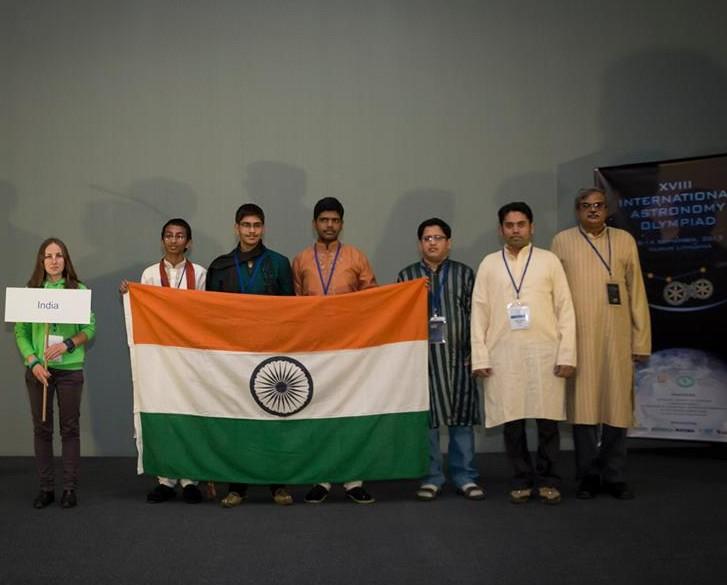Tarptautinė Astronomijos olimpiada. Indijos komanda | facebook.com nuotr.