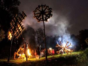 """Vaikų folkloro šventė """"Baltų raštai – 2013""""   šventės rengėjų nuotr."""