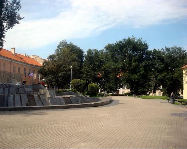 Konstantino Sirvydo skveras | wikimapia.org nuotr.