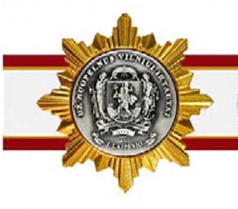 """Medalis """"Už nuopelnus Vilniui ir Tautai"""""""