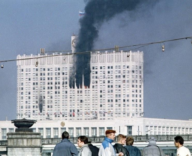 Rusija, 1993 spalio 4 d. įvykiai | AFPScanpix nuotr.