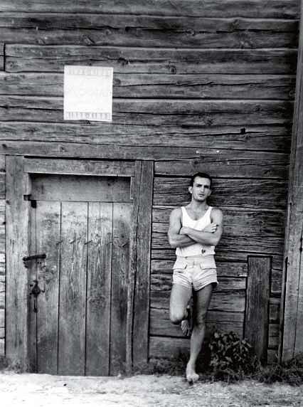 Algirdas Patackas žygyje po Aukštaitiją, 7 dešimtmečio vidurys | Nuotrauka iš asmeninio archyvo