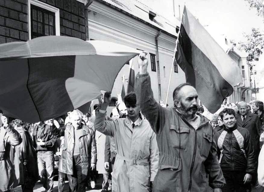 Centre - Algirdas Patackas, kairėje - Vytautas Ališauskas | Nuotrauka iš asmeninio archyvo.