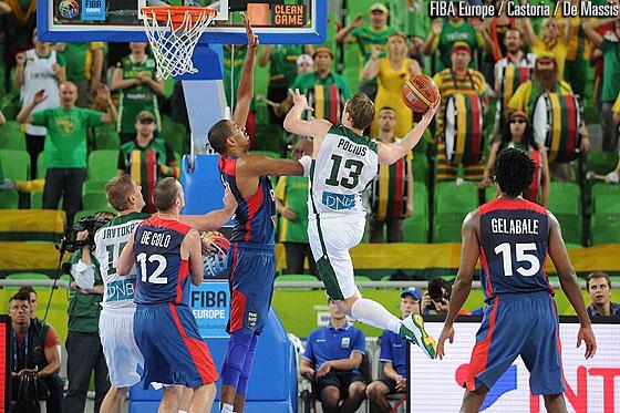 Lietuva – Prancūzija | FIBA Europe/Castoria/Metlas nuotr.