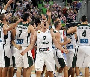 Lietuvos rinktinė – Eurobasket 2013 finale!!! | eurobasket2013.org nuotr.