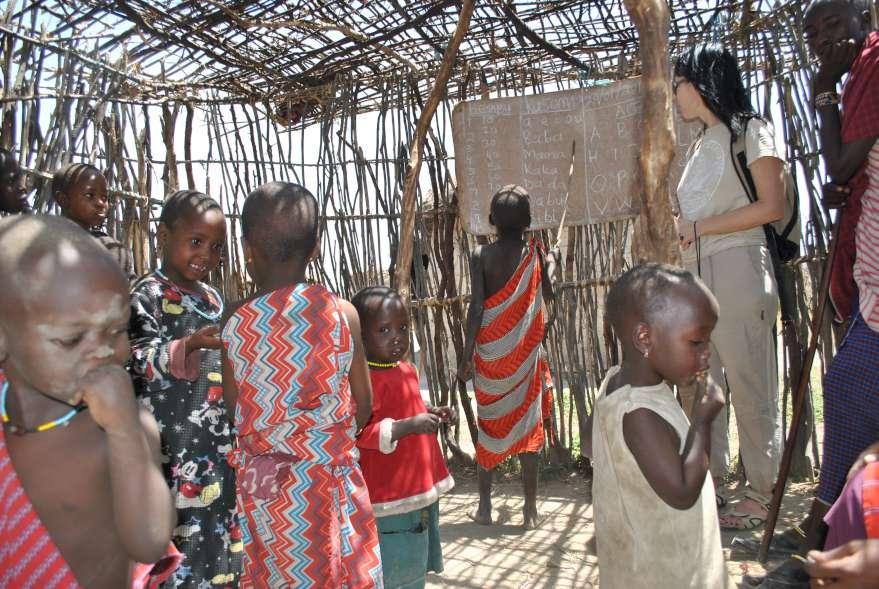 Afrikos mokykla | asmeninė nuotr.