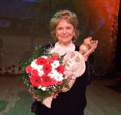 Geriausia festivalio aktore pripažinta Gražina Balandytė   varena.lt nuotr.