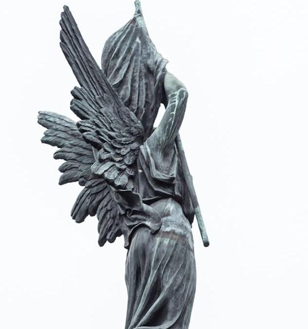 Laisvės statula Kaune. Skulptorius J. Zikaras, 1928 m.