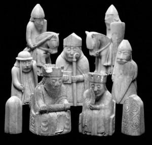 Luiso salos šachmatai. XII a. pab.